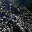 Robô filma vídeo da superfície de asteroide 4