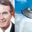 """Geoge Bush levou o segredo dos OVNIs para o túmulo, porque """"os americanos não conseguiriam encarar a verdade"""". 1"""
