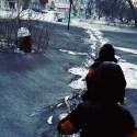 Neve negra cobre as ruas de cidade da Sibéria 2