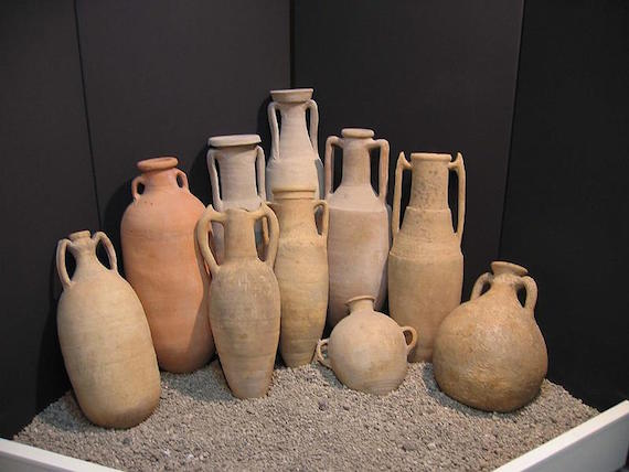 relíquias romanas submersas do Brasil
