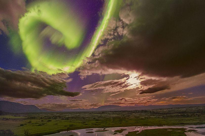 NASA alertou sobre perigo, após mostrar aurora espetacular apelidada de 'A Bela e a Fera'