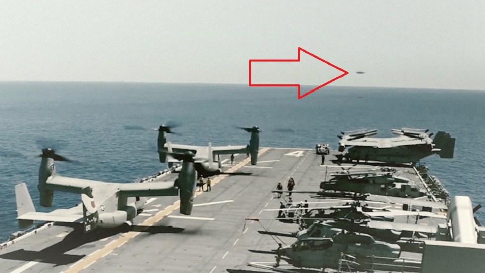 Encontro com OVNIs têm sido reportado por vários pilotos, diz Marinha dos EUA 1