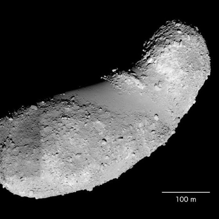 Água é encontrada nas amostras do asteroide Itokawa