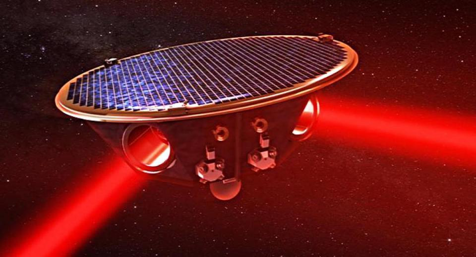 Antena Espacial de Interferômetro a Laser (LISA)