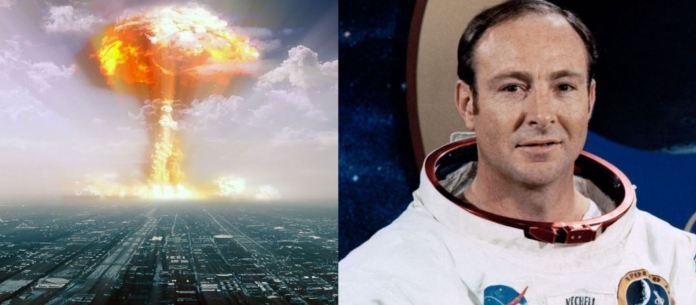 Astronauta no seu leito de morte diz que alienígenas evitaram guerra nuclear
