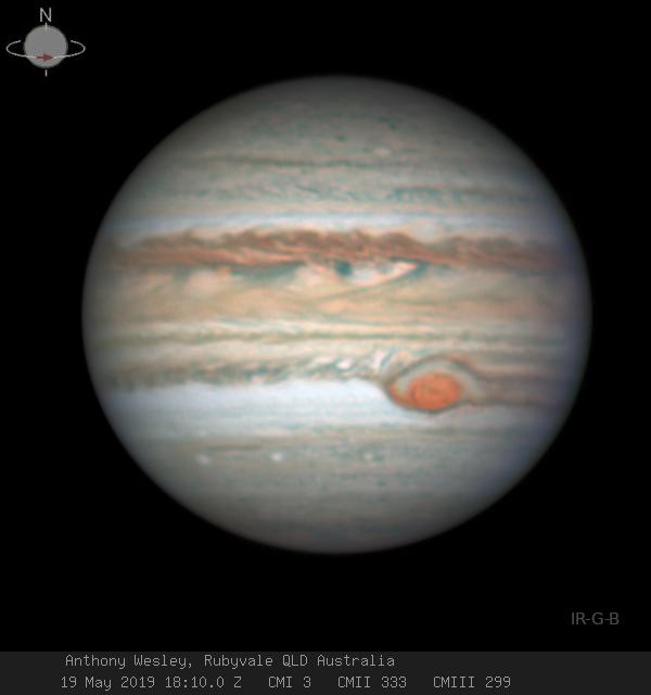 A Grande Mancha Vermelha de Júpiter está se dissolvendo?