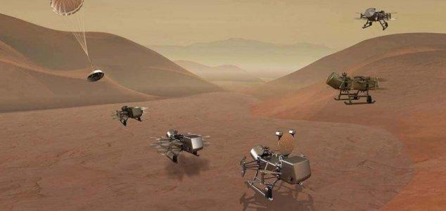 NASA anuncia missão 'Dragonfly' para lua de Saturno - Titã