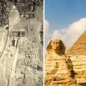 Gêmea da Grande Esfinge do Egito 'pode estar escondida sob montes de areia' 2