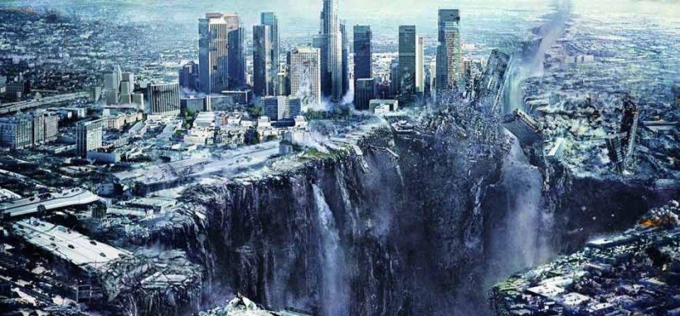 o momento exato que um grande terremoto irá ocorrer