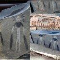 Arte de 5.000 anos atrás pode retratar alienígenas - e é feita com técnicas modernas 8