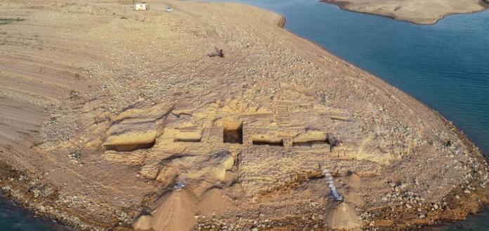 Seca no Iraque revela palácio de 3.400 anos de um império misterioso