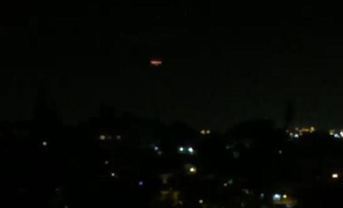 Incrível aparição de OVNI em Porto Alegre