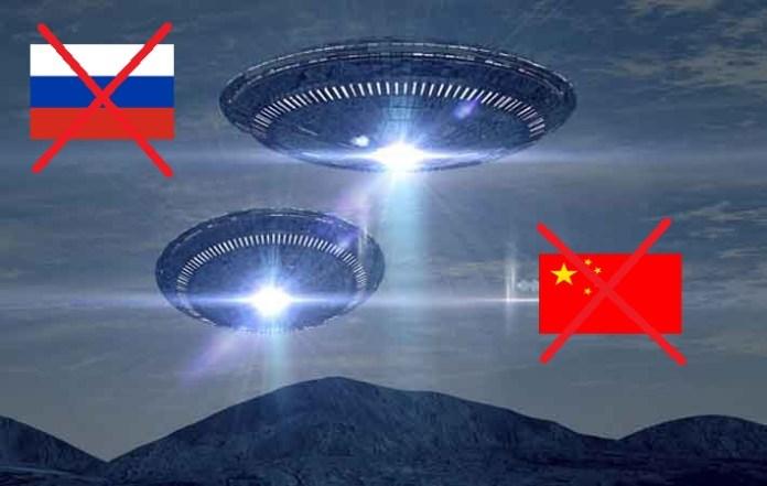 Poderiam os OVNIs ser russos ou chineses?