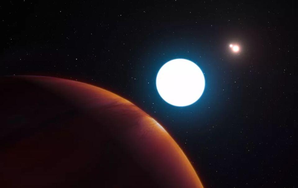 É descoberto intrigante planeta com 3 sóis
