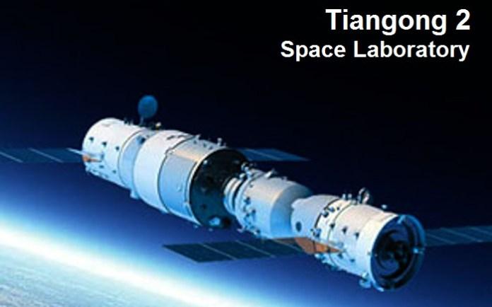 Laboratório Espacial da China cai de volta à Terra