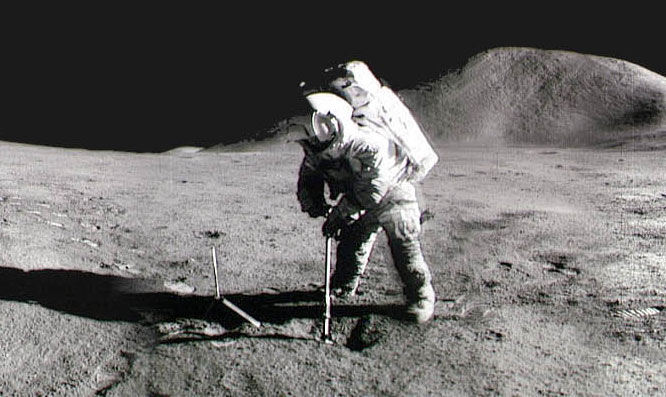 O cheiro da Lua: astronautas da Apolo descrevem o cheiro da Lua
