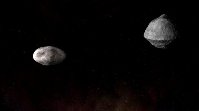 NASA e ESA se preparam para investigar o asteroide Didymos