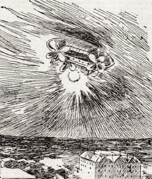 história de 3.500 anos de avistamentos de OVNIs