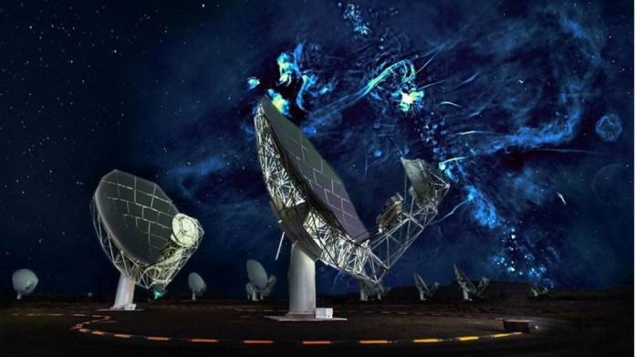 Bolhas gigantescas estão emitindo sinais de rádio perto do centro da Via Láctea