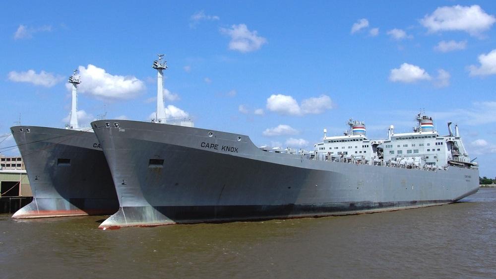 Pentágono ordena exercício repentino, de tamanho sem precedentes, para seus navios Sealift