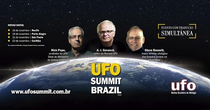 UFO Summit Brazil 2019 - participe do sorteio de 10 ingressos!