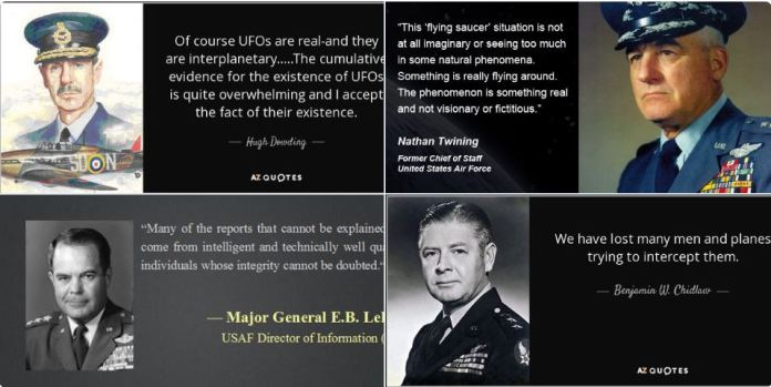 A realidade dos OVNIs já têm sido confirmada por militares há décadas