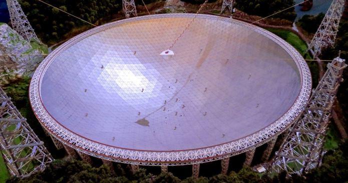 Maior radio telescópio do mundo está aberto para caça aos alienígenas