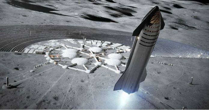 SpaceX definitivamente planeja pousar na Lua em 2022