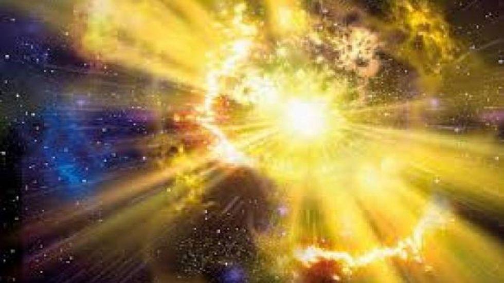 Quando uma estrela morre, algo mágico ocorre no céu