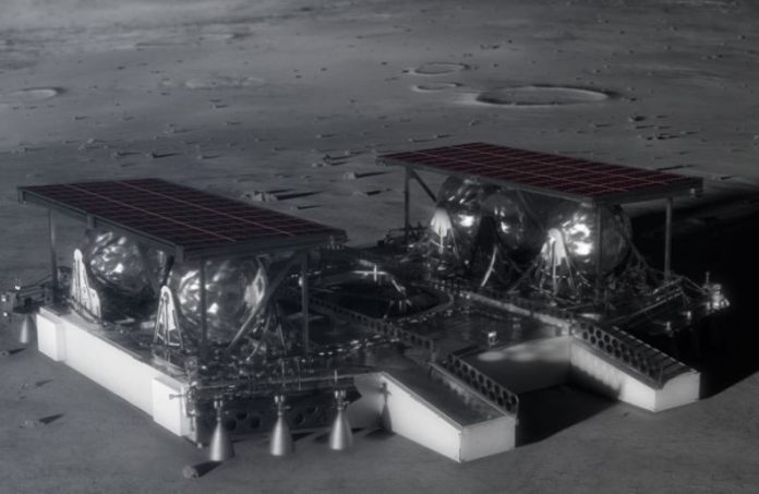 NASA mostra novo conceito impressionante de módulo de pouso lunar