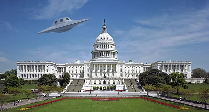 """Ninguém tem ideia do que era o objeto misterioso que """"invadiu"""" Washington na terça-feira (26)"""