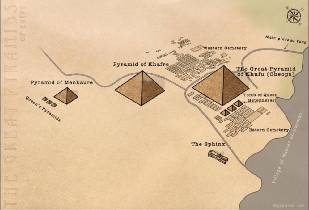 Grande pirâmide e esfinge são muito mais velhas do que se pensava