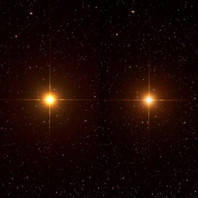 Explosão de onda gravitacional é detectada perto da estrela Betelgeuse