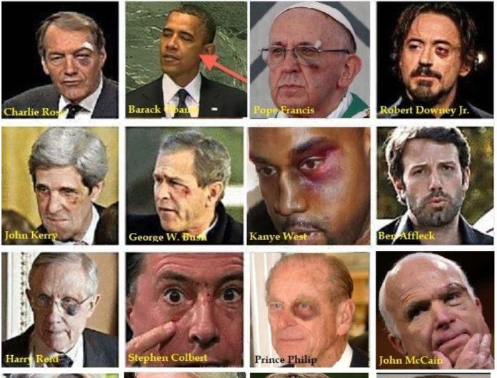 """O clube do """"Olho Preto"""" - um ritual de iniciação de uma sociedade secreta sinistra?"""