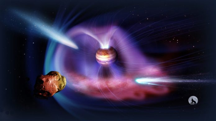 Cientista descobre que Júpiter pode ser perigoso para a Terra