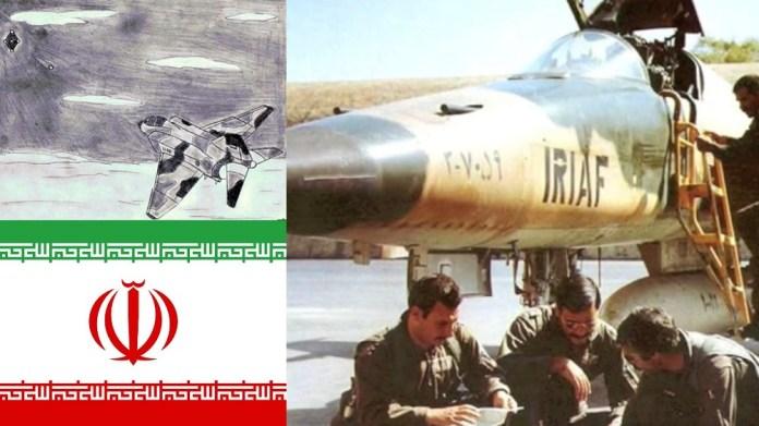 O encontro com OVNI no céu do Irã, em 1976