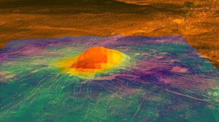 Cientistas encontram evidências de que Vênus tem vulcões ativos