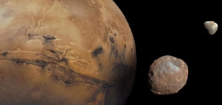 Japão será primeiro país a pousar em Fobos, lua de Marte