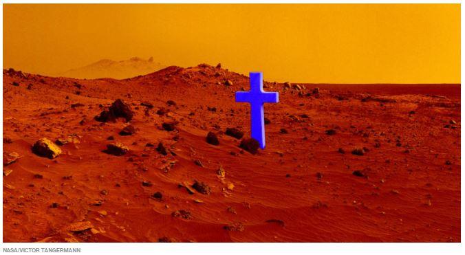 Colonos em Marte irão precisar de cadáveres humanos