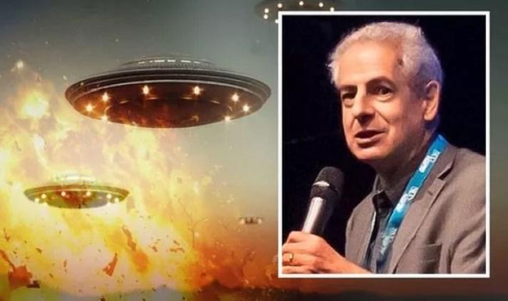 """Invasores alienígenas """"quebrarão este planeta como uma noz"""", alerta Nick Pope"""