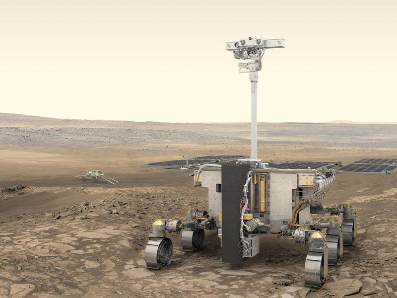 Uma nova maneira de testar se há vida em Marte