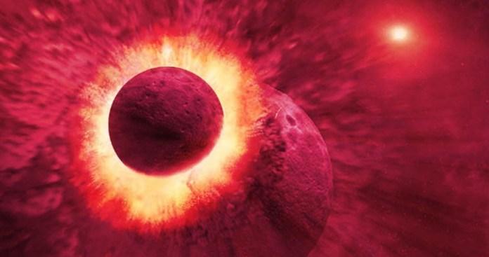 Fragmento de planeta que atingiu a Terra pode estar enterrado na Lua
