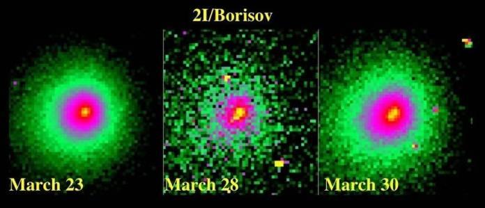 O cometa interestelar Borisov parte em dois