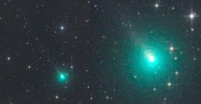 Após 4.400 anos, o antigo cometa Atlas chega novamente. Algo para se preocupar?
