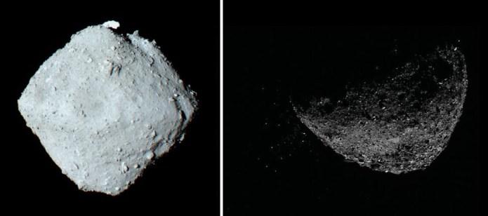 Astrônomos acreditam que Bennu e Ryugu vieram do mesmo enorme asteroide
