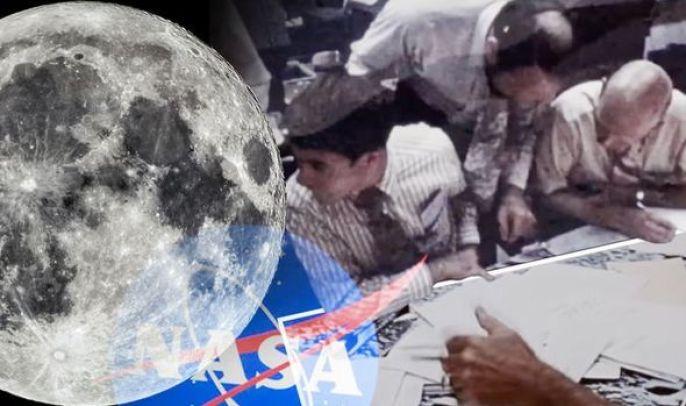 Extraterrestres observam a Terra a partir da Lua