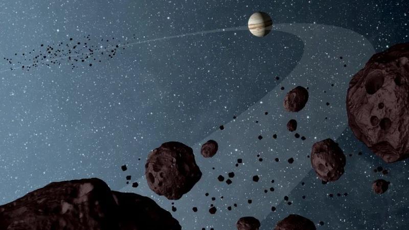 Algo inesperado é descoberto em asteroide na órbita de Júpiter