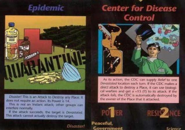 As previsões do jogo de cartas Illuminati de 1995 se tornou realidade hoje
