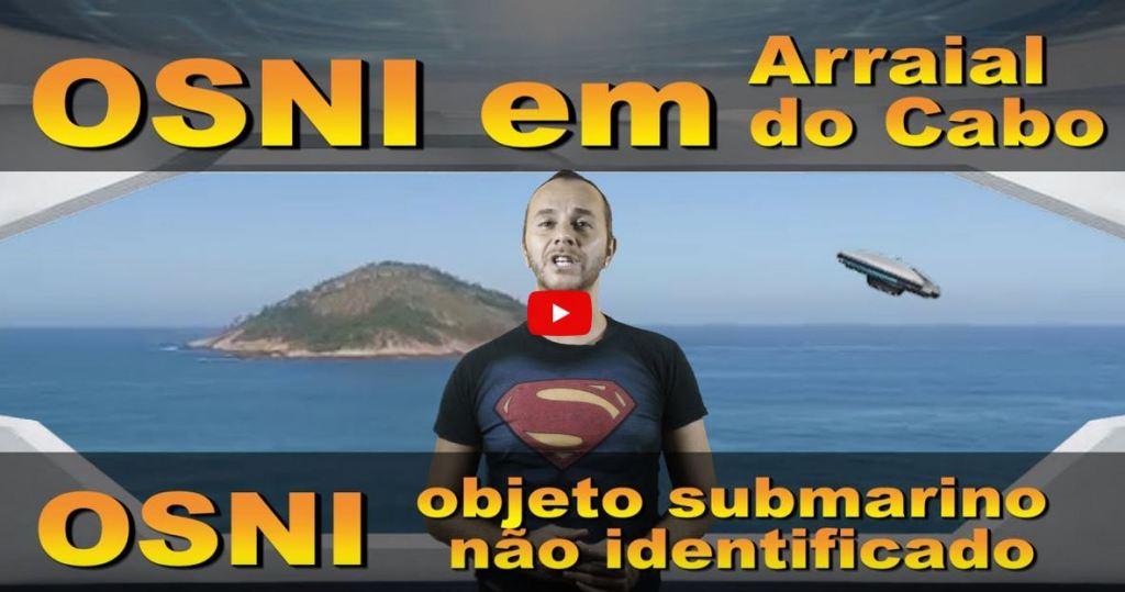 Aeronave (OVNI) pode ter caído o mar na costa de Arraial do Cabo, Rio de Janeiro