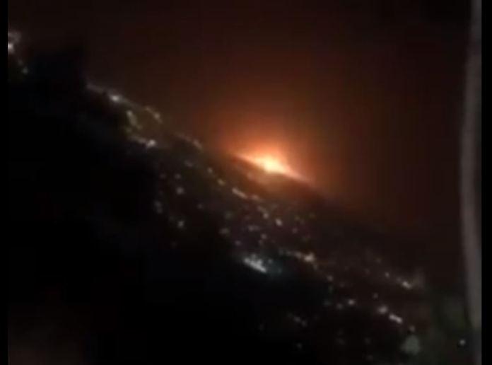 URGENTE: Enorme explosão ocorre no Irã, possivelmente nuclear